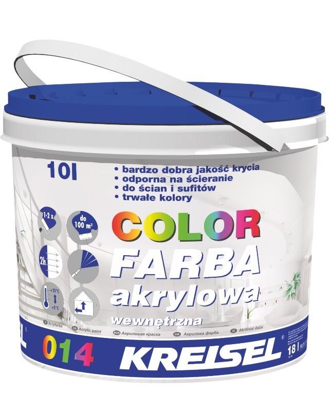KREISEL  ACRYLFARBE 014  Фарба акрилова внутр.кольорова База D (10 кг)