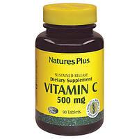 Витамин С 500мг, Natures Plus, 90 таблеток