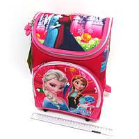 3255-FR Школьный  рюкзак для девочки Эльза Холодное сердце 35*26*15 см