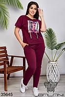 Женский спортивный костюм 50-52,54-56,58-60,62-64, фото 1
