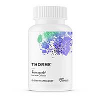 Строительная Формула Крови, Ferrasorb, Thorne Research, 60 гелевых капсул