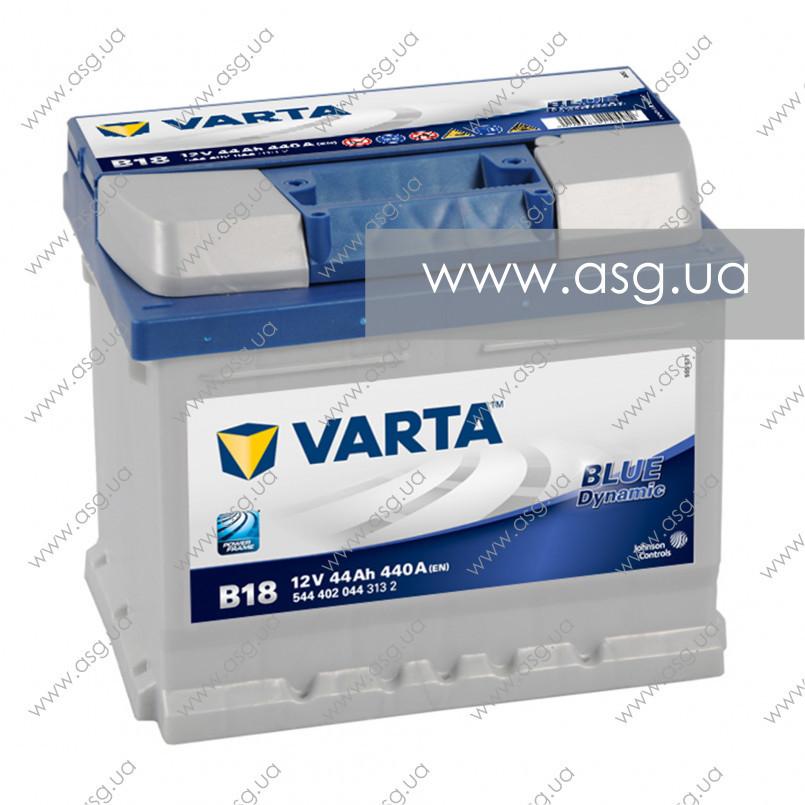 VARTA 44 Ah Blue Dynamic B18 (0)