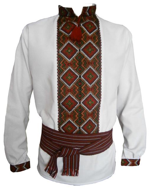 Вишиті чоловічі сорочки - купити чоловічі вишиванки ручного чи машинного  пошиття. Plumarii.com.ua b953e9ce65eff