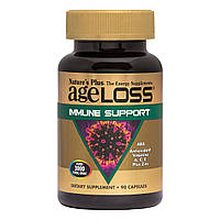 Поддержка Иммунитета, AgeLoss Immune Support, Natures Plus,  90 капсул