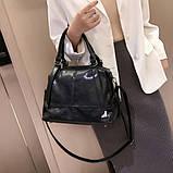 Стильная классическая сумка, фото 3