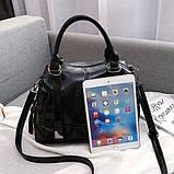 Стильная классическая сумка, фото 4
