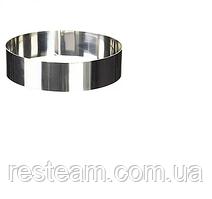 Форма кондитерская круглая (d10 см h3,5 см) нержавейка Lacor