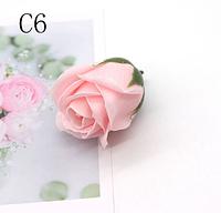 Цветы из мыла. Мыльная роза. Роза из мыла. 5см. Цвет 10(С6)