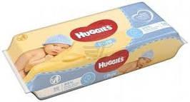 Влажные детские салфетки Huggies Pure 56шт. (Хагис)