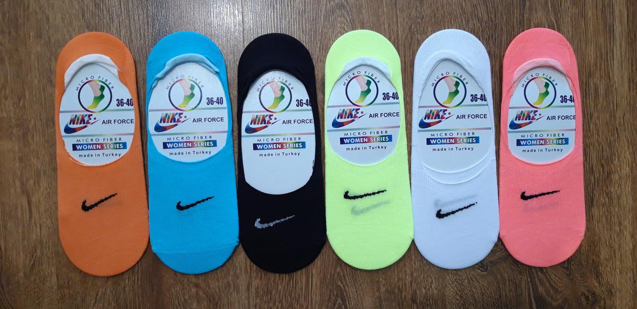 """Женские следы,микрофибра в стиле""""Nike""""Турция"""