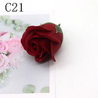 Цветы из мыла. Мыльная роза. Роза из мыла. Цвет 13(С21)