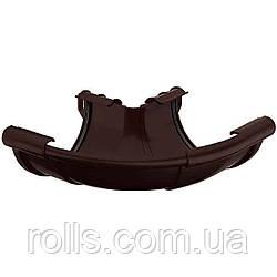 Кут зовнішній 135° Galeco PVC 110/80 кут зовнішній 135° водостічної ринви RE110-_-LZ135-Х Темно-коричневий