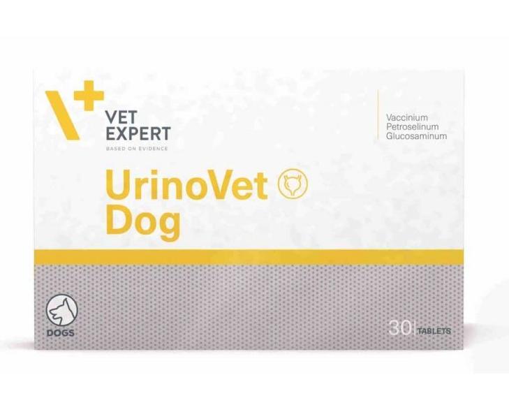 VetExpert UrinoVetDog УріноВет Дог для нормалізації, підтримці і відновленні функцій сечової системи,30 таб