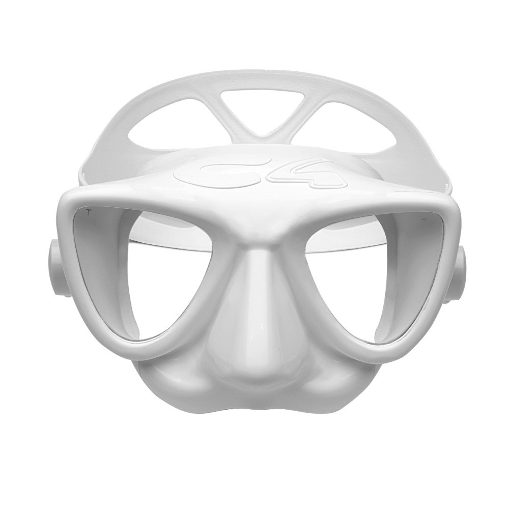 Маска С4 PLASMA white (силикон, стекло)