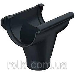 Воронка зливна Galeco PVC 110/80 лійка водостічної ринви RE110-_-OP080-G