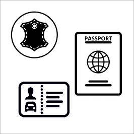 Обложки для документов, паспорта