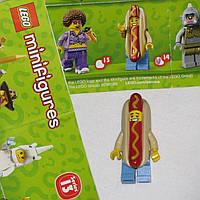 Lego minifigures Лего коллекционная минифигурка Хот-дог из 13-й серии