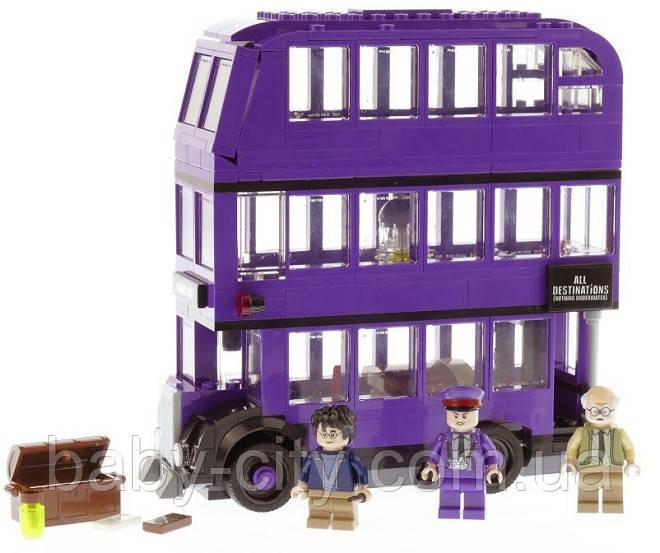 Детский конструктор Harry Potter Автобус  (419 деталей)