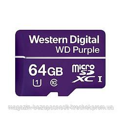 Карта памяти Western Digital MEMORY MICRO SDXC 64GB