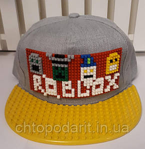 """Бейсболка конструктор """"Роблокс"""" Код 12-0960"""