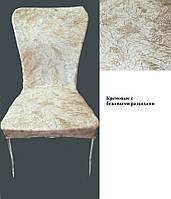 На стул чехол велюровый Турция Крем