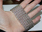 Браслет-кольчуга из серебра Тристан, фото 5