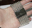 Браслет-кольчуга из серебра Тристан, фото 6