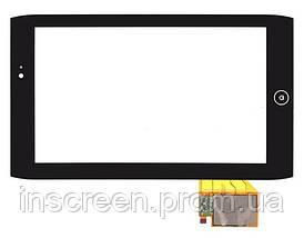 Сенсор (тачскрін) Acer Iconia Tab A100 чорний