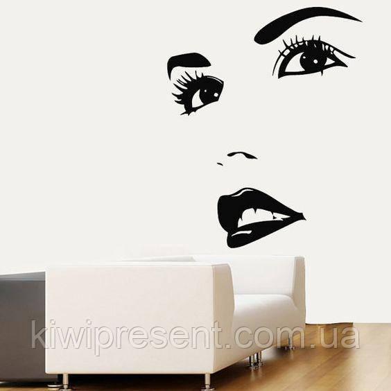 """Картина из металла   """"Дева"""" (черный мат). Панно на стену . Декоративное панно 3D."""
