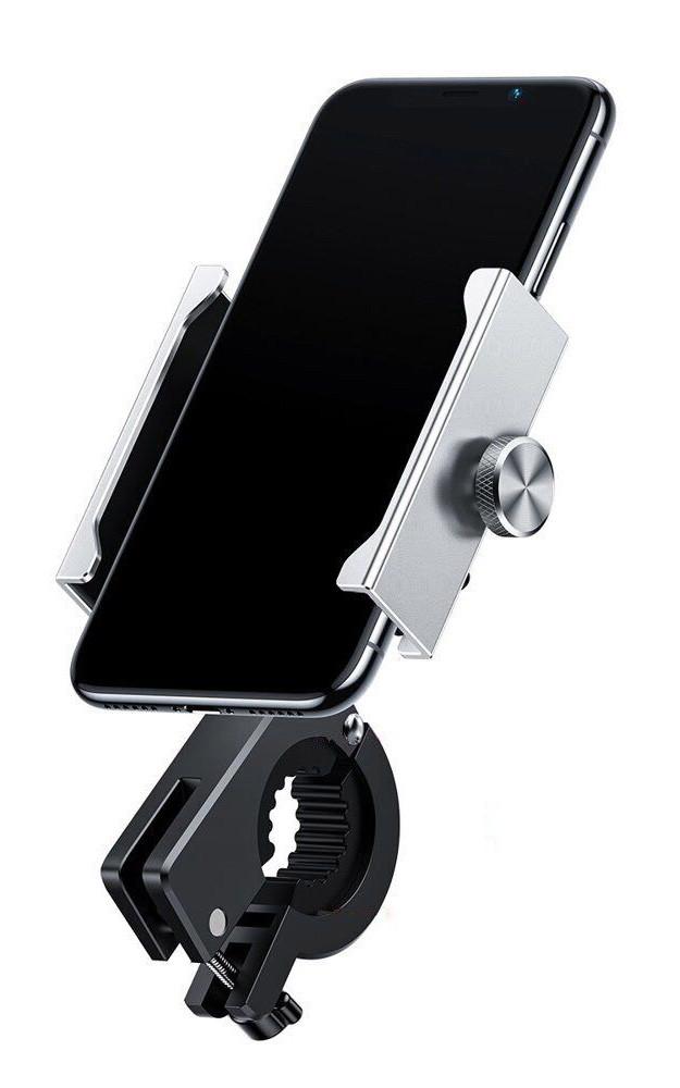 Велотримач телефон Baseus Knight Motorcycle holder Silver (CRJBZ-0S)