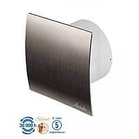 Бытовой вентилятор Awenta серии SYSTEM+KWS-PES 100 -СЕРЕБРO вытяжной вентилятор для ванной комнаты или санузла