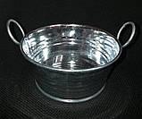 Тазик металлический для декора, выс. 5 см., 40/30 (цена за 1 шт. + 10 гр.), фото 9