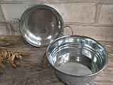 Тазик металлический для декора, выс. 5 см., 40/30 (цена за 1 шт. + 10 гр.), фото 2