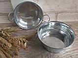 Тазик металлический для декора, выс. 5 см., 40/30 (цена за 1 шт. + 10 гр.), фото 4