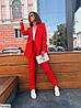 Женский модный, строгий костюм в разных цветах, фото 4