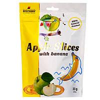 Слайсы яблучні сушені з бананом Apple Slices, 33г