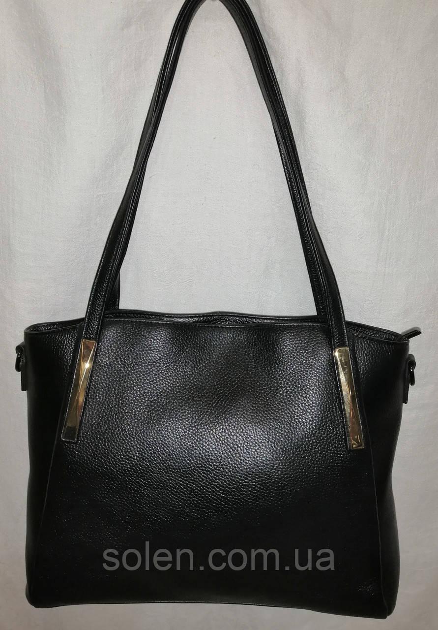 Стильная кожаная сумка . Женская сумка из натуральной кожи. Красивая сумка.