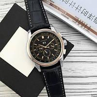 Мужские наручные часы Forsining 319 Black-Cuprum-Black