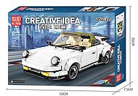 Детский конструктор Mould Kung Creative Idea 13103 «Спортивный автомобиль «White Porsche» 882 деталей