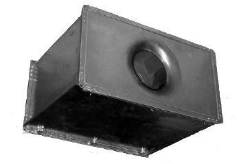 Вентилятор канальный Веза Канал-КВАРК-П-Ш-80-50-40-4-380