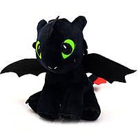Мягкая игрушка KinderToys «Как приручить дракона?». Любимая игрушка Дракоша Беззубик (00688-1), фото 1