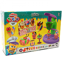 Тесто для лепки «Master-do» Фабрика мороженного (Данко-тойс). Набор для творчества, 15 цветов (TMD-06-01)