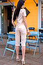 """Класні жіночі класичні літні бриджі великих розмірів""""Бетті"""", фото 6"""