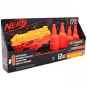 Игрушечное оружие Hasbro Nerf Альфа Страйк Кобра (E7857)