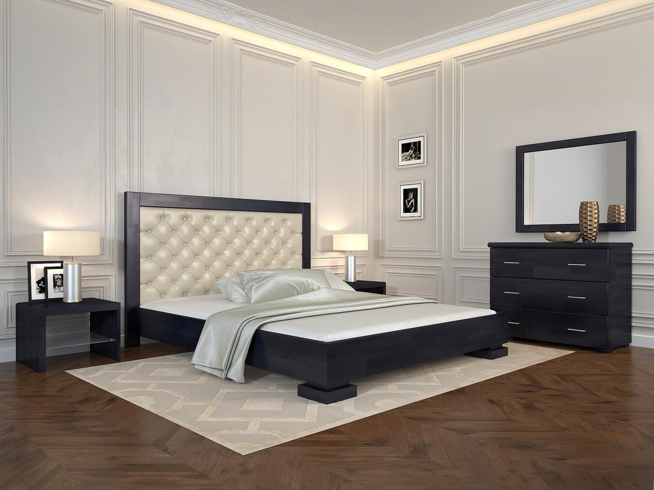 Ліжко Arbordrev Подіум (ромби) (Сосна)