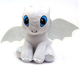 Мягкая игрушка KinderToys «Как приручить дракона?». Любимая игрушка Дракоша Дневная фурия (00688-2)