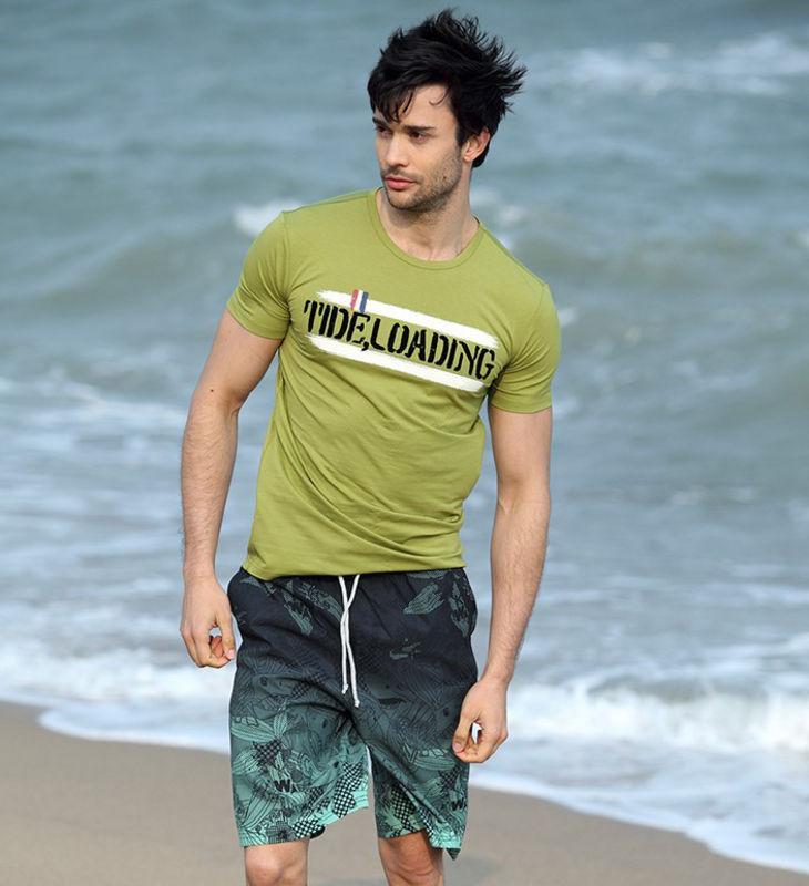 Кольорові пляжні шорти Gailang