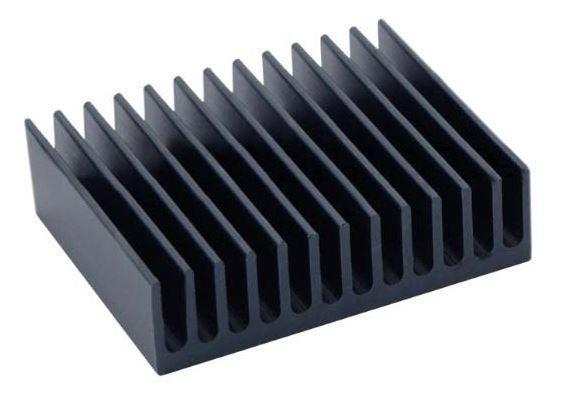 Радиатор алюминиевый 40*32*10 мм. 1 шт.