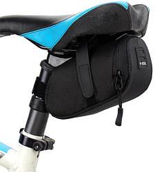 Сумка под сиденье велосипеда B-Soul X-017 (8х16 см) Black