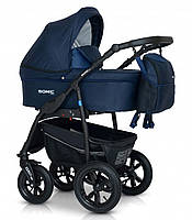 Детская универсальная коляска 3 в 1 Verdi Sonic Plus 10, синяя